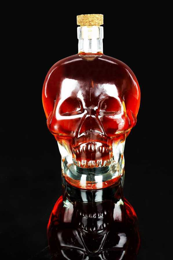 "Glasflasche ""Spirit Head""10345"