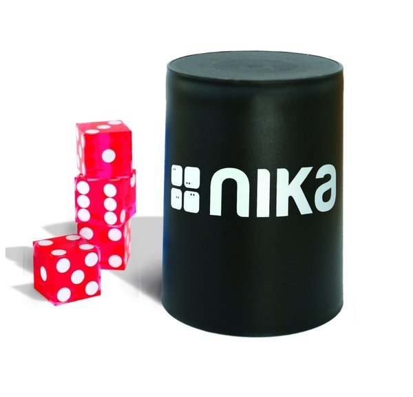 nika Dice Stacking Basic Set Red11101