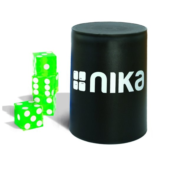 nika Dice Stacking Basic Set Green11103